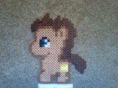 Chibi Perler Bead Ponies: Doctor Whooves by Perler-Pony.deviantart.com on @deviantART