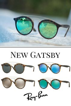 Retro, trendy and Ray-Ban! Find the Ray-Ban new Gatsby sunglasses at www.visiondirect....