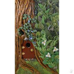Fairy Door Art Journal Sketchbook Diary von DragonTracksStudio