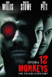12 Monkeys (1995) In a future world devastated by disease, a convict is sent back in time to gather information about the man-made virus that wiped out most of the human population on the planet.
