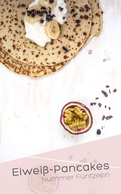 Eiweiß-Pancakes I Nummer Fünfzehn