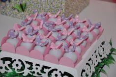 Docinhos de borboletas rosa e lilás!!!
