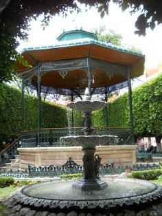 Jardin de la Unión, Guanajuato Mexico