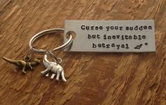 Curse your sudden but inevitable betrayal keychain by craftylikeamonkey