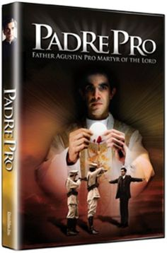 GOOD CATHOLIC MOVIE for Gift Giving – The Story of Father Miguel Pro DVD – Many people are not aware of this movie. It is very well done and tells the story of Father Pro. A must for serious Catholics. Especially good for teenage boys too. http://amzn.to/1lW37Is