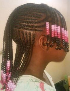 Mixed Race Hairstyles, Lil Girl Hairstyles, Cute Hairstyles For Kids, Braided Hairstyles For Wedding, African Braids Hairstyles, Kids Hairstyle, Hairstyle Ideas, Children Hairstyles, Braid Hairstyles