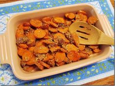 Coconut-Baked Carrots with Figs