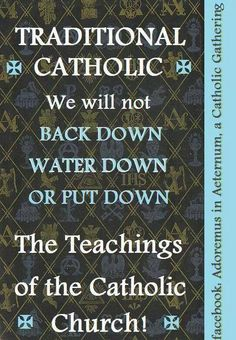 Because those teachings are about Who God is and how to receive Him, so we may live through, with, and in Him, Who is Love, whereby others will know how much God loves them-- because we live in Him and He lives in us. If we do not know God, we cannot share Him with others. ...so WHY WOULD WE back down, water down, or put down those teachings?! All the same, however, if we do not love others, then why should they find those teachings compelling?