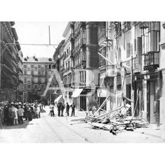 HUNDIMIENTO DE UN ANDAMIO EN MADRID....