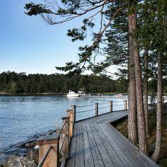 Boardwalk to the Artipelag museum. #artipelag #stockholm