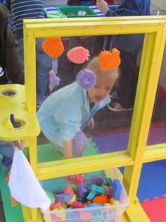Just found the Teach Preschool blog... Lots of great ideas--this link is to a tour of her outdoor classroom. I think one of these plexiglass easels is in our future as well.
