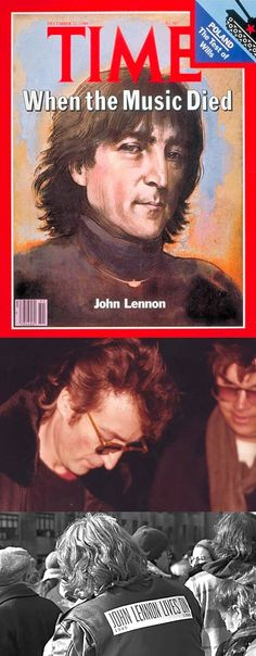 "Monday, December 8, 1980: Returning from the recording studio to his home at The Dakota in New York, John Lennon was shot and killed by Mark David Chapman at the entrance to the building. Earlier, as Lennon and Yoko Ono left their apartment to mix Ono's song ""Walking On Thin Ice"" at the Record Plant Studio, Chapman (a 25-year-old security guard from Honolulu) approached Lennon for an autograph (captured by another photographer at the scene)."