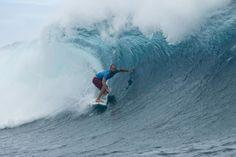 World Surf League: Billabong Pro Tahiti Round 3, Round 4 / C.J. Hobgoodが10ポイントのパーフェクトチューブライディングを披露した。