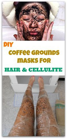 Masks with coffee grounds have many benefits for hair, skin and they even have anti cellulite effects. See some excellent combinations right now!