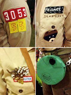 Halloween Costumes! Suzy Bishop & Sam Shakusky from Moonrise Kingdom | Twinkie Chan Blog