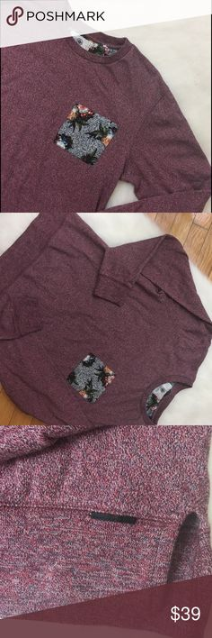 Men's On The Byas Sweatshirt, Size Medium Men's On The Byas lightweight sweatshirt in a size medium. Only worn once. In excellent condition. Purchased from Pac Sun. on the byas Shirts Sweatshirts & Hoodies