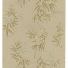 Brewster Bamboo Shoot Leaves Wallpaper - 149-63805