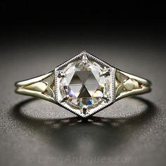 .65 Carat Rose-Cut Diamond Antique Engagement Ring $2,950.00 Love, love this. Simple but classy.