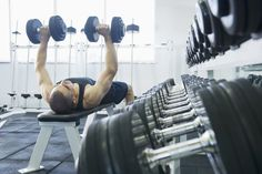 Get Seriously Fit with this Advanced Weight Training Fitness Workout