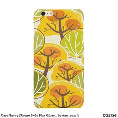 Case Savvy iPhone Plus Glossy Finish Case All Design, Cover Design, Graphic Design, Iphone 6, Autumn Inspiration, 6s Plus, Iphone Case Covers, Illustrators, Create Your Own