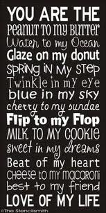 Love of my life. Spring in my step. Twinkle in my eye: Blue in my sky. Sweet in my dreams. Beat of my heart. Best to my friend. Love of my life. Great Quotes, Quotes To Live By, Me Quotes, Inspirational Quotes, My Better Half Quotes, Famous Quotes, Soul Qoutes, Poster Quotes, Lovers Quotes