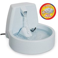 PetSafe Drinkwell Original Pet Fountain with Bonus Filters *** Click on the image for additional details. (This is an Amazon affiliate link)