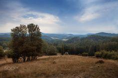 View on the autumn valley - View on the autumn valley