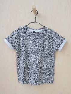 Soranen oversize T-shirt, all over pattern