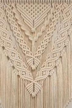 Macrame Wall Hanging Patterns, Large Macrame Wall Hanging, Macrame Plant Hangers, Macrame Wall Hangings, Free Macrame Patterns, Driftwood Macrame, Macrame Art, Macrame Knots, Macrame Projects