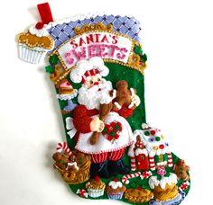 Media de media de la Navidad Bucilla acabado por HometownUSA