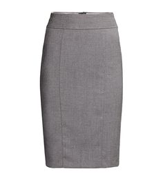 Pencil Skirt - The good news about the pencil skirt is that it's moving out of office-only territory. We love the piece after-hours paired with a slinky silk cami or t-shirt. H&M Pencil Skirt ($25)