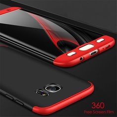Luxury 360 Full Protection Case For Samsung Galaxy S8 Plus S7 edge Cover Ultra Thin Shockproof Armor Moblie Phone Bag Capa Coque
