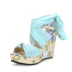 Women's Shoes Slingback Wedge Heel Linen Sandals Shoes More Colors available – CAD $ 48.64