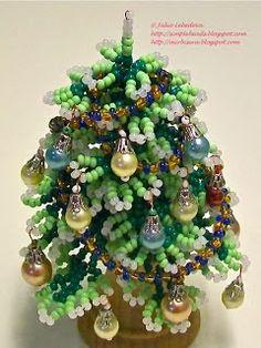 Pattern bijoux: Albero di Natale
