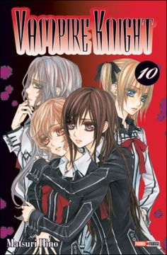 Couverture Vampire Knight, tome 10