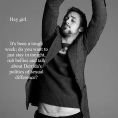 Ryan Gosling, feminist hey girl