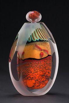 """coisasdetere: """" Perfume - Steven E. Mann, Artist, Desert Series, sculptural bottle. """""""