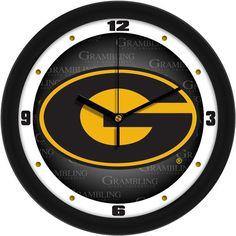 Mens Grambling State University Tigers - Dimension Wall Clock