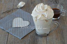 Coppa cremosa al caffè morbida vellutata e golosissima, tempo di preparazione pochissimo, un dessert, un fine pasto o una merenda golosa