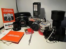 Zeiss Ikon Voigtlander Icarex 35S OUTFIT  EXTRA CONDITION