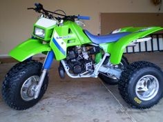 Kawasaki 3 wheeler. Looks identical to mine, that I truly miss!!