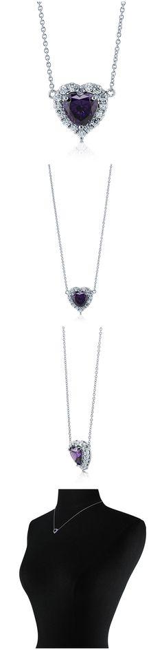 Sterling Silver CZ Halo Fashion Necklace