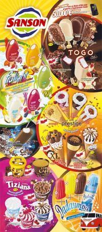 Sanson ice cream