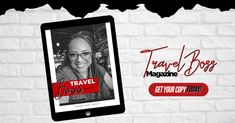 Travel Boss Magazine for future, new and existing travel professionals looking for insipiration, training and education to launch and operate a successful travel business. Get the latest news! Travel Agent Career, Business Travel, Boss, Polaroid Film, Product Launch, Success, Training, Magazine, Education