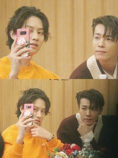 "171109 ""SBS Cultwo Show"" Heechul Donghae (cr. Choi Siwon, Lee Donghae, Leeteuk, Super Junior Kpop, Donghae Super Junior, Pretty Men, Beautiful Men, K Pop, Programa Musical"