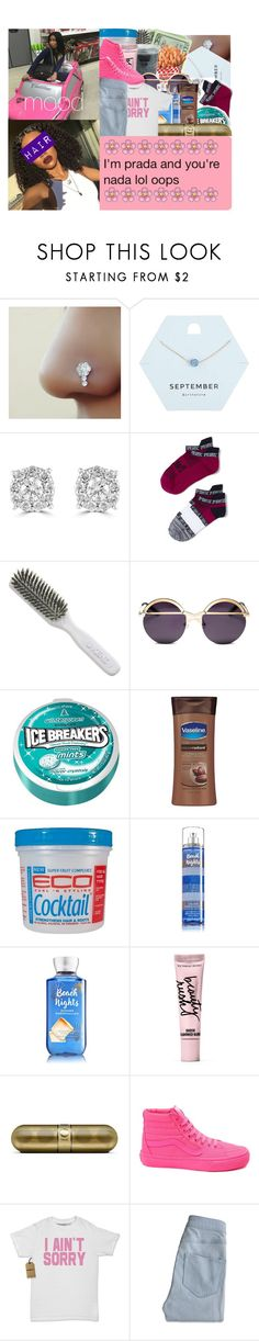 """""""mood on 2 milli"""" by wottice19 on Polyvore featuring Miss Selfridge, Effy Jewelry, Kent, INC International Concepts, Coco && Breezy, Beauty Rush, Vans and Hollister Co."""