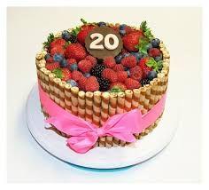 Cake with fruit Birthday Cake, Fruit, Cakes, Food, Birthday Cakes, Meal, The Fruit, Essen, Hoods