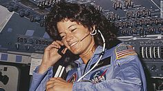 First American woman in space Sally Ride of Challenger in June 1983 died today of cancer, RIP sweetheart...