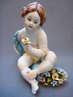 cherubs a common theme in capodimonte porcelain