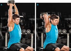 Gym Workout: The Best Exercises for Massive Arms Big Arm Workout, 7 Workout, Get Bigger Arms, How To Get Bigger, Big Biceps, Biceps And Triceps, Fit Over 40, Yoga, Gain Muscle